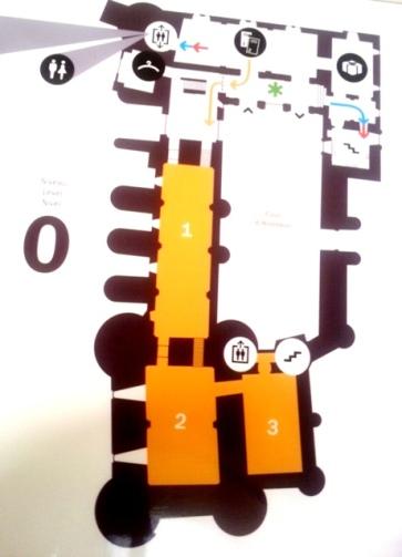 Plan musée Toulouse Lautrec - Albi - Niveau 0