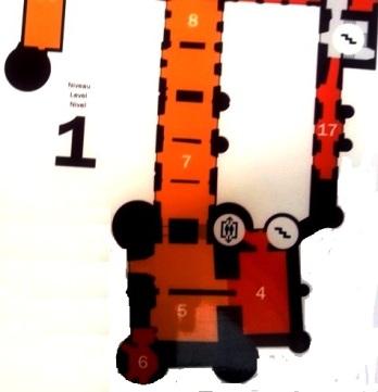 Plan musée Toulouse Lautrec - Albi - Niveau 1